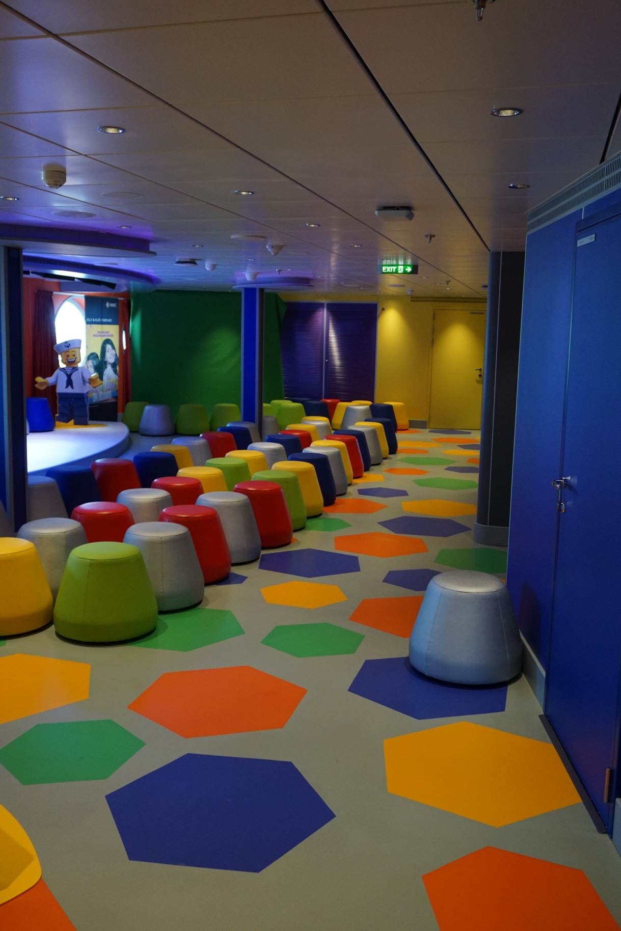 Doremi theatre MSC Seaside 7 kids area resin flooring